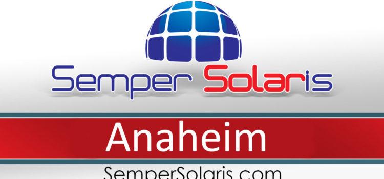 Best Solar Installation Company in Anaheim CA