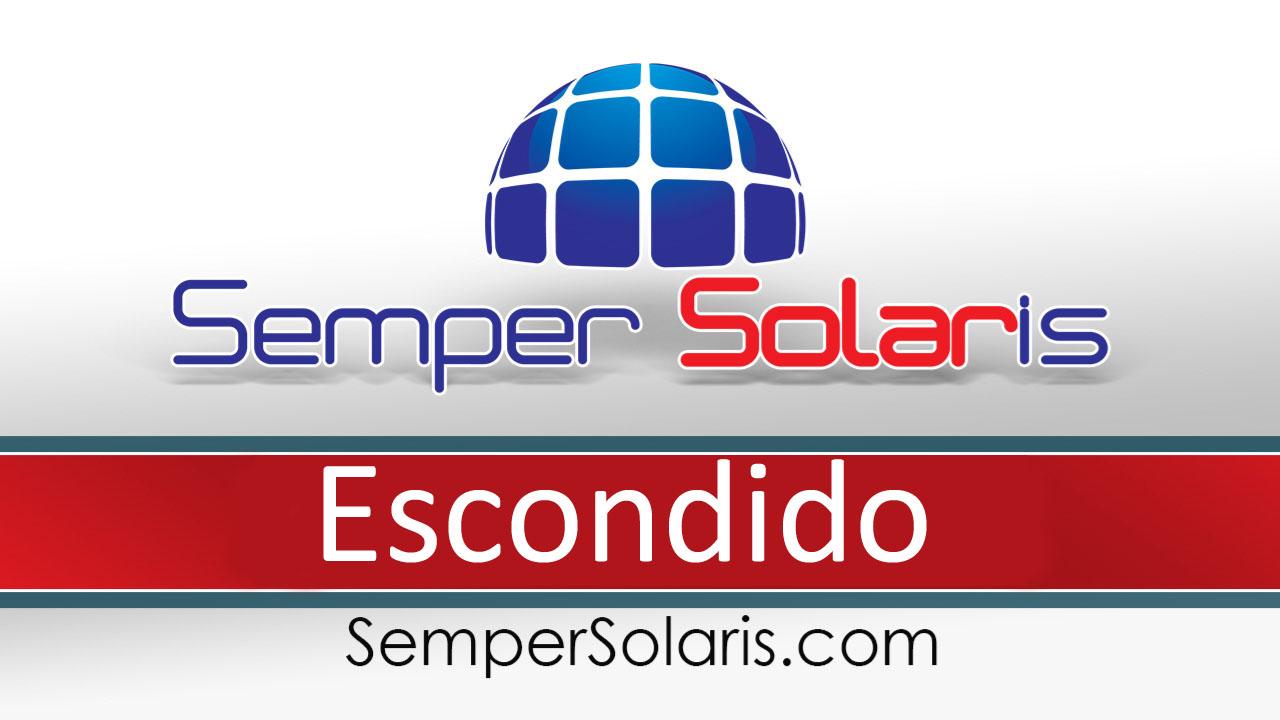 solar  install company  Escondido