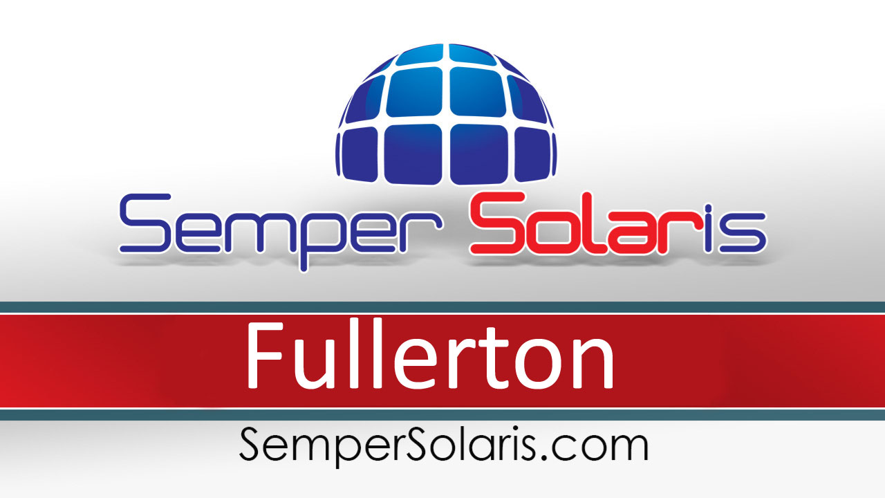 Reliable  Solar Contractor Company Fullerton