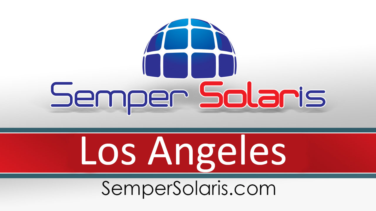 Local Installation Cost Of Solar Los Angeles Panel
