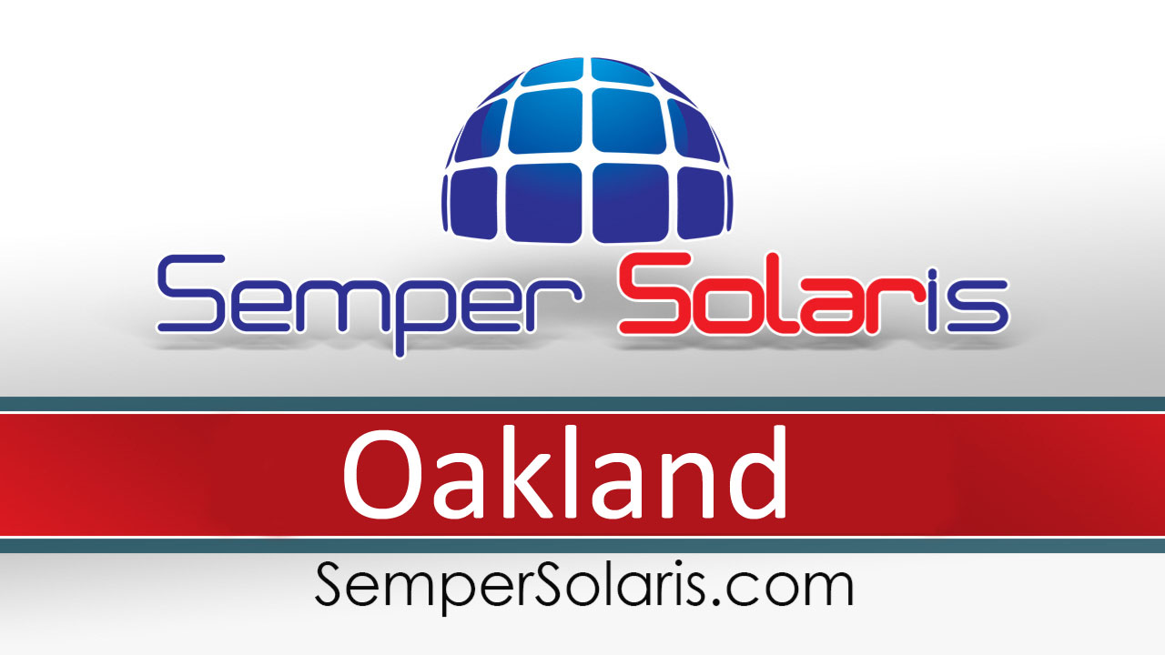 Reliable  Solar Panel Costs Oakland