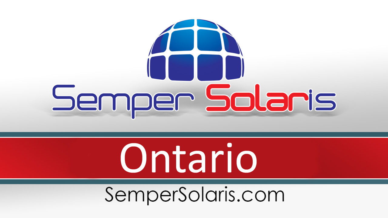 Best In Company For Solar Ontario Power