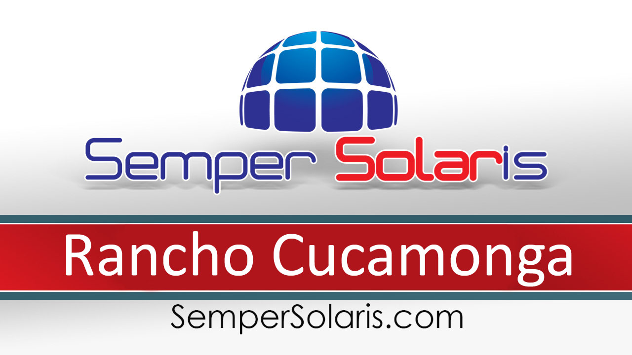 Best Solar Panel Installers Contractor Rancho Cucamonga Ca