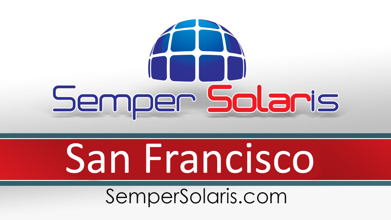 Local  Solar Power Companies San Francisco