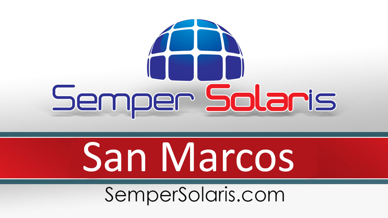 Best Solar Power Installation Professional San Marcos Ca