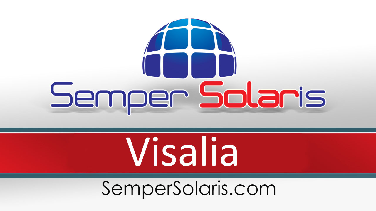 Best  Solar Power In Visalia