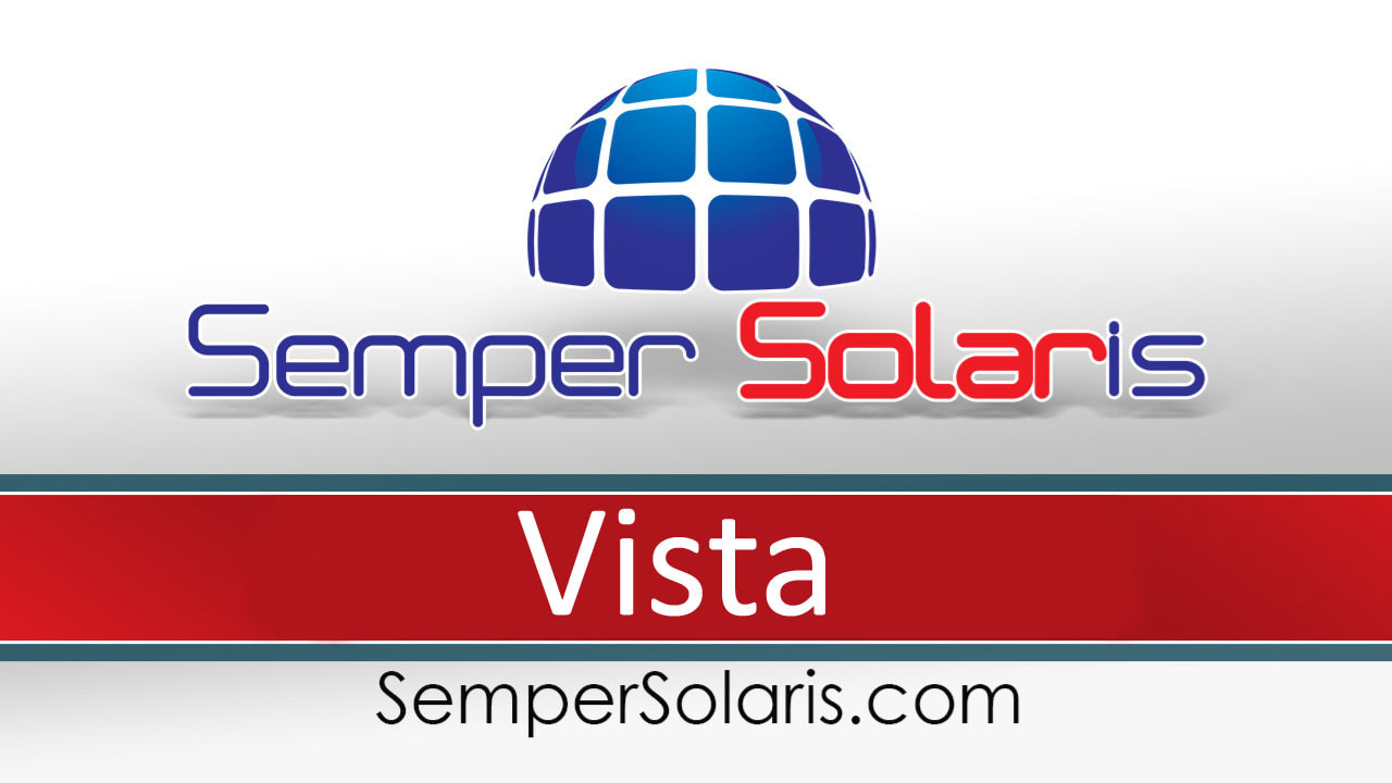 Best Solar Panels Install Company Vista Ca