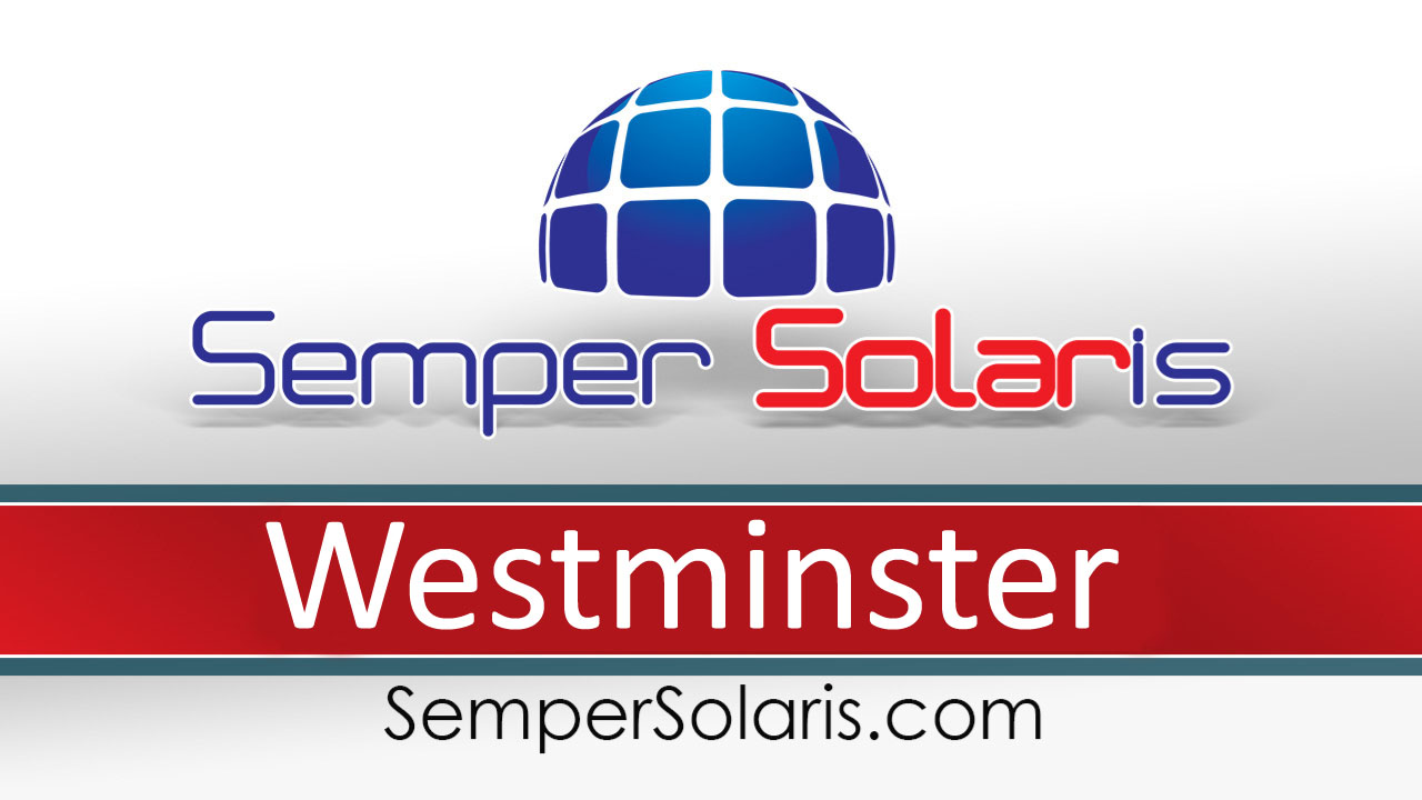 Local  Solar Company  Westminster